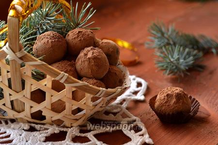 Фото рецепта Карамельные трюфели