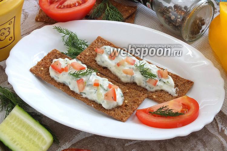 Рецепт Диетические бутерброды с творогом