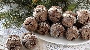 Фото рецепта Печенье «Шоколадный поцелуй»