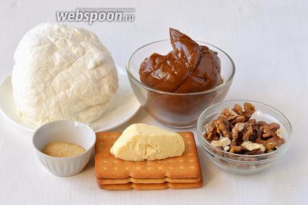 Тыквенно-карамельный чизкейк, пошаговый рецепт с фото
