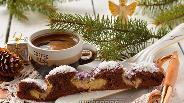 Фото рецепта Шоколадно-кокосовый пирог «Снежный ангел»
