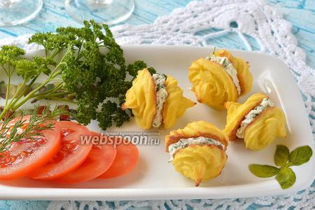 Закусочные пирожные из цветной капусты
