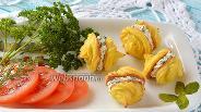 Фото рецепта Закусочные пирожные из цветной капусты