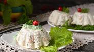 Фото рецепта Белковый куриный мусс с фасолью в мультиварке