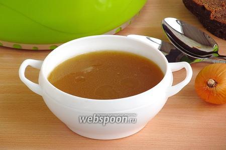 Базовый рецепт приготовления костного бульона