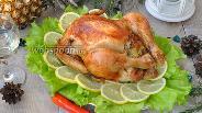 Фото рецепта Курица в шампанском с ананасами
