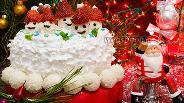 Фото рецепта Новогодний кекс