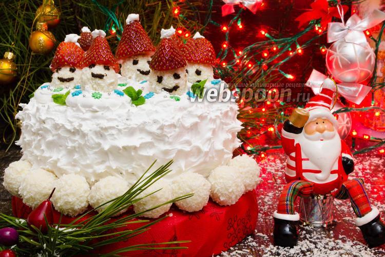 Фото Новогодний кекс