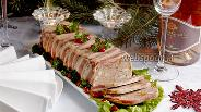 Фото рецепта Новогодний мясной террин