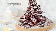 Фото рецепта Шоколадная ёлка