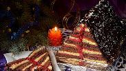 Фото рецепта Торт «Карнавальная ёлочка»