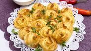 Фото рецепта Розочки из картофеля