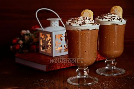 Кофейно-шоколадный мусс
