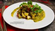 Фото рецепта Овощное соте с каштанами