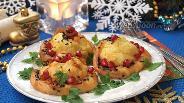 Фото рецепта Картофельные горки с рыбным филе