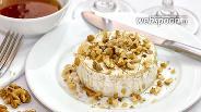 Фото рецепта Запечённый сыр Бри с грецкими орехами и мёдом