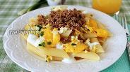 Фото рецепта Макароны с фаршем и яйцом
