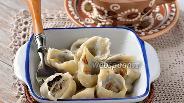 Фото рецепта Ушки с грибами