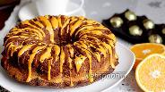 Фото рецепта Шоколадно-маковый кекс