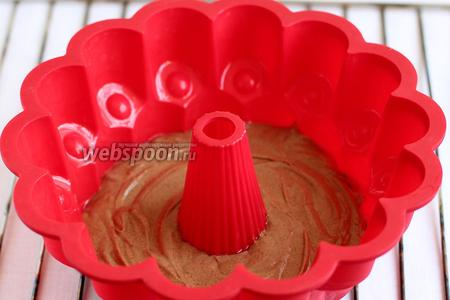 Кекс шоколадно-маковый