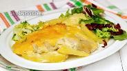 Фото рецепта Картофель с рыбой в духовке