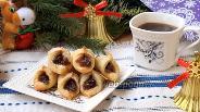 Фото рецепта Польское печенье Kolaczki