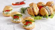 Фото рецепта Картофельные эклеры