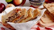 Фото рецепта Пирог с мясом на постном тесте