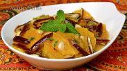 Фото рецепта Марокканский апельсиновый салат с финиками