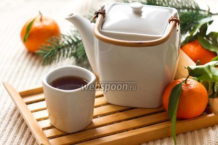 Мандариновый чай