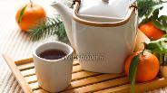 Фото рецепта Мандариновый чай