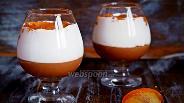 Фото рецепта Шоколадный мусс с хурмой