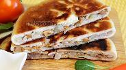 Фото рецепта Осетинский пирог с тушёной капустой