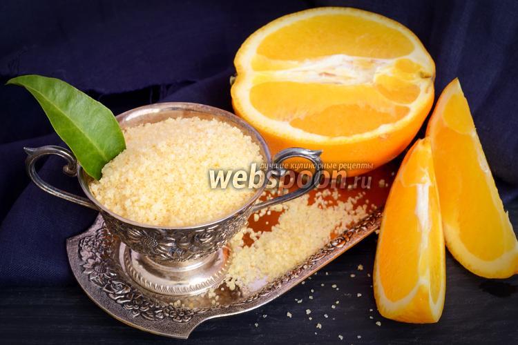 Фото Апельсиновый сахар