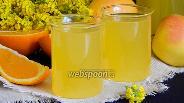 Фото рецепта Апельсиново-яблочный компот