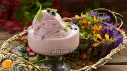 Фото рецепта Сливочное смородиновое мороженое