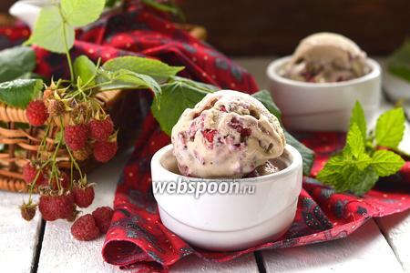 Мороженое «Малина в халве»