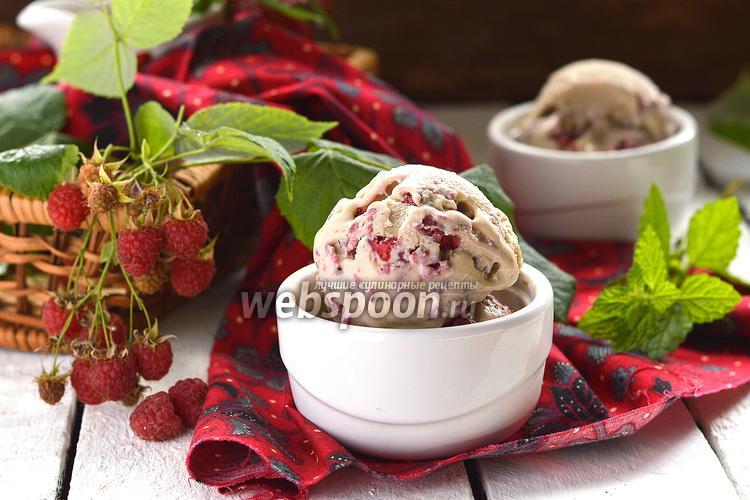 Фото Мороженое «Малина в халве»