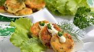 Фото рецепта Сырники с зеленью