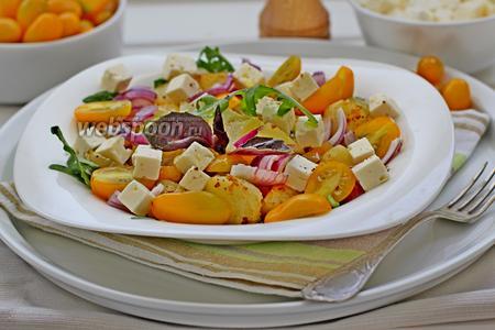 Картофельный салат по-гречески