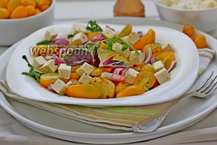Фото Картофельный салат по-гречески