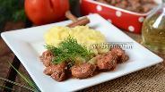 Фото рецепта Стифадо из свинины