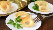 Фото рецепта Нежные кальмары в кляре