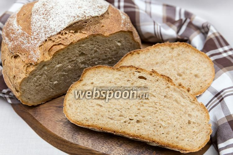 Фото Пшенично-ржаной хлеб на кефире