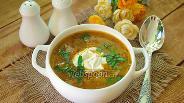 Фото рецепта Чехословацкий суп с жареной капустой