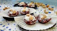 Фото рецепта Шоколадные конфеты с мятой и кешью