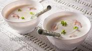 Фото рецепта Сливочный суп с пеной
