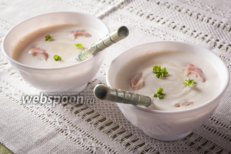 Фото Сливочный суп с пеной