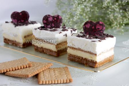 Пирожные «Марс»