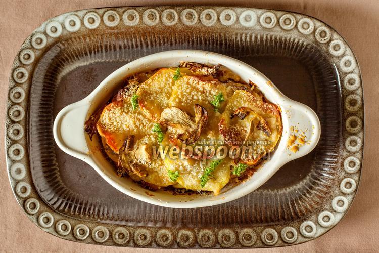 Фото Картошка с грибами по-апулийски